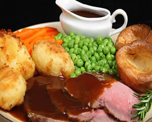 Victoria Lodge roast dinner